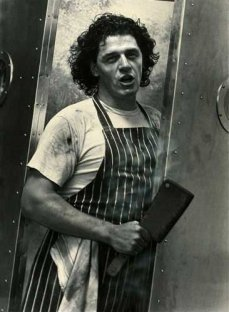 Marco With Meat Cleaver, 1991