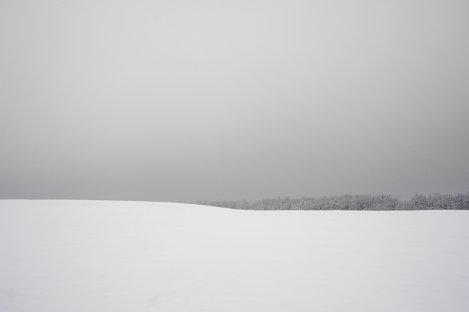 Winter horizon, Pyrohiv, Ukraine