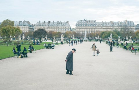 Old man, Paris